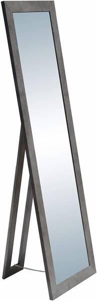 Standspiegel beton holz,160x50