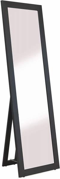 Standspiegel schwarz holz,160x50