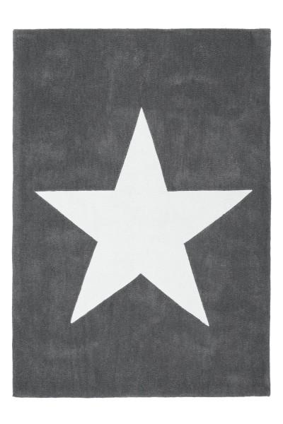 Kurzflorteppich grau »Cameroon«