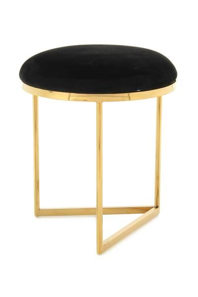 Hocker 325 schwarz-gold »Wynona«