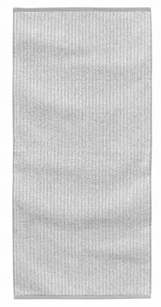 Handtuch Frottier silver 50x100