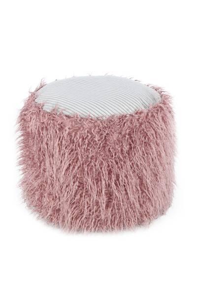 Fellpouf rosa 125 »Bobtail«