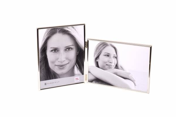 Portraitrahmen silber 2x 10x15 »Chloe«