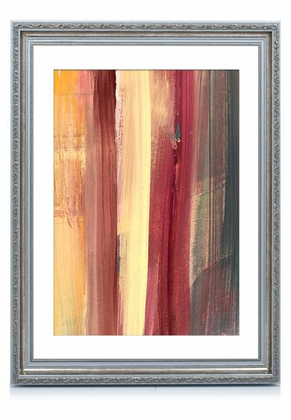 Bilderrahmen-Barock Silber 21x30, »Absolutely«