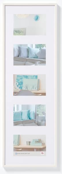 Galerierahmen weiß 5er 10x15, »New Lifestyle«