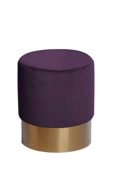 Hocker 110 violett »Nano«