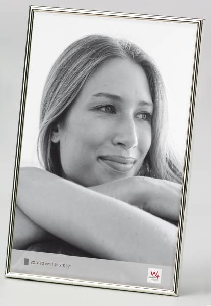 Portraitrahmen silber 20x30 »Chloe«