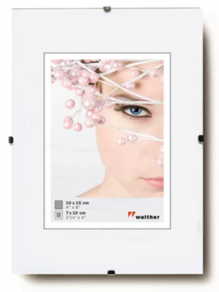 Rahmenloser Bilderrahmen klarglas 50x70