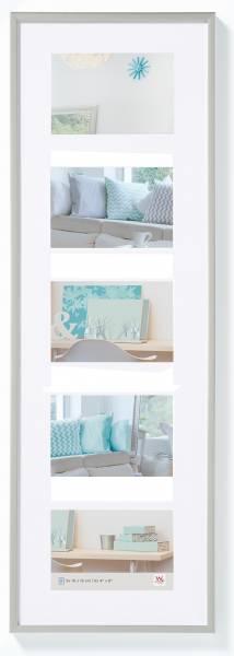 Galerierahmen silber 5er 10x15, »New Lifestyle«