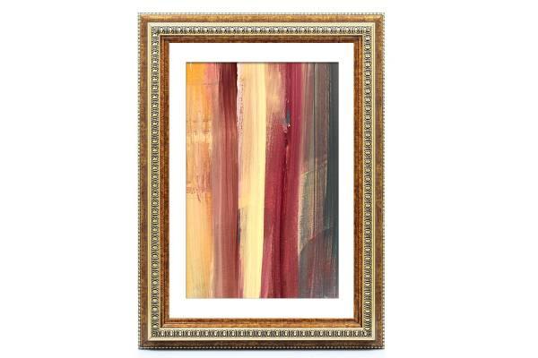 Bilderrahmen-Barock Gold 10x15, »KindOF«