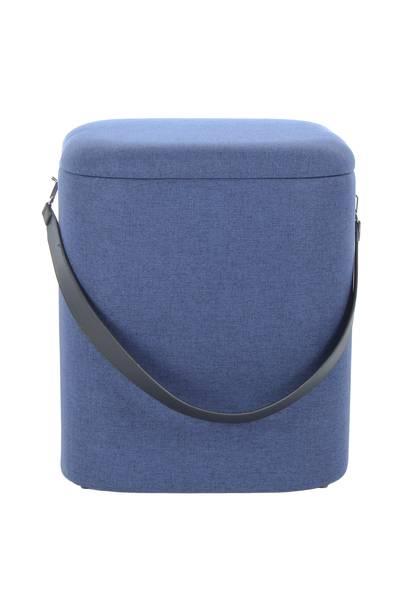 Hocker 225 (2er-Set) blau »Arabella«