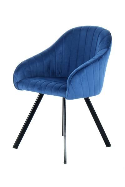 Armlehnenstuhl 125 (2er-Set) dunkelblau »Jodie«