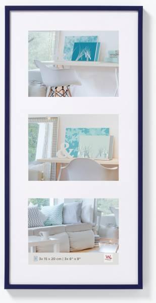 Galerierahmen blau 3er 15x20, »New Lifestyle«