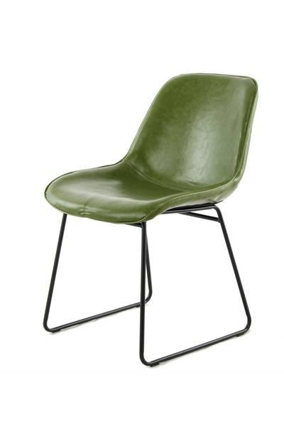 Esszimmerstuhl 110 (2er-Set) grün »Cora«