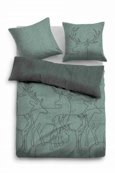Bettwäsche Melange mint 200x200