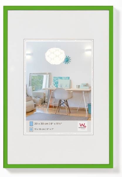 Kunststoffrahmen grün 30x40, »New Lifestyle«