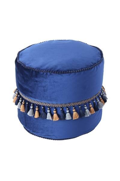Pouf blau 225 »Taj Mahal«