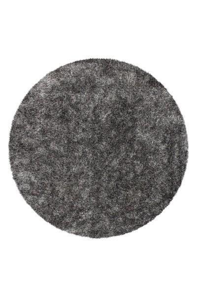 Hochflorteppich grau-weiß »Diamond«