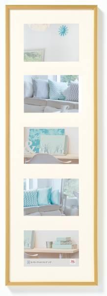 Galerierahmen gold 5er 10x15, »New Lifestyle«