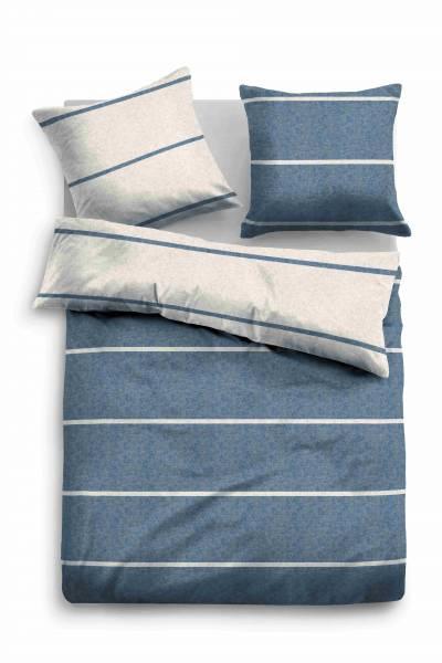 Bettwäsche Melange jeans 155x220