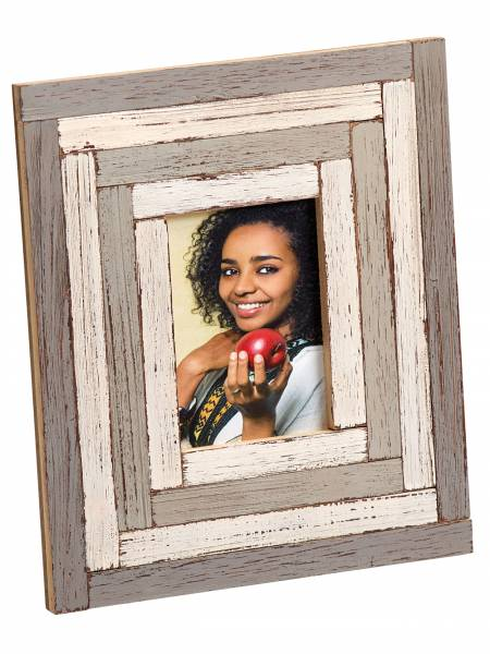 Portraitrahmen grau 10x15 »Okume«