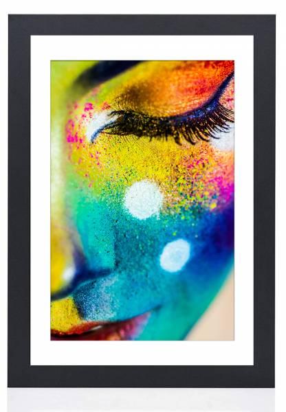 Bilderrahmen schwarz ultramatt 40x50, »Frame74«