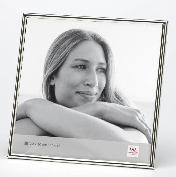 Portraitrahmen silber 20x20 »Chloe«
