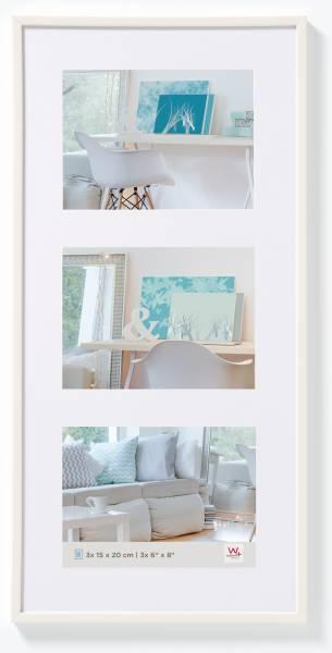 Galerierahmen weiß 3er 15x20, »New Lifestyle«