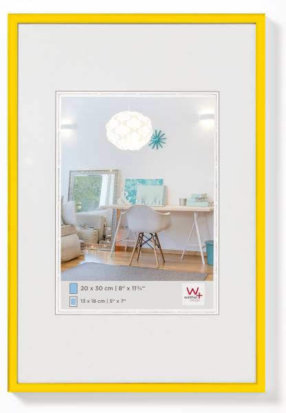 Kunststoffrahmen gelb 15x20, »New Lifestyle«