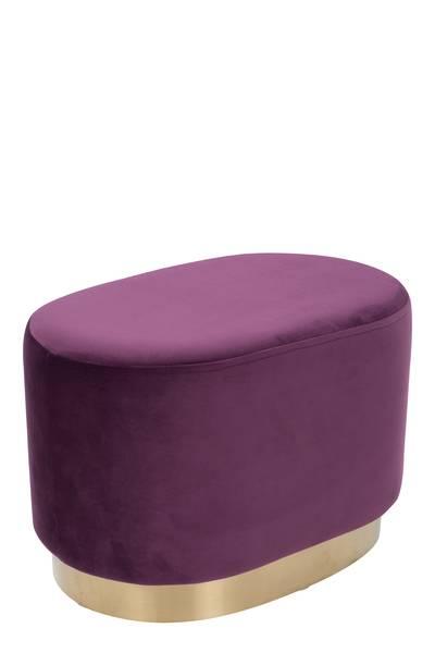 Hocker 410 violett »Nano«