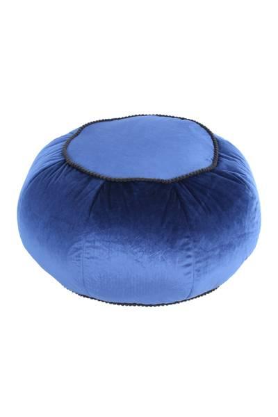 Pouf blau 325 »Taj Mahal«