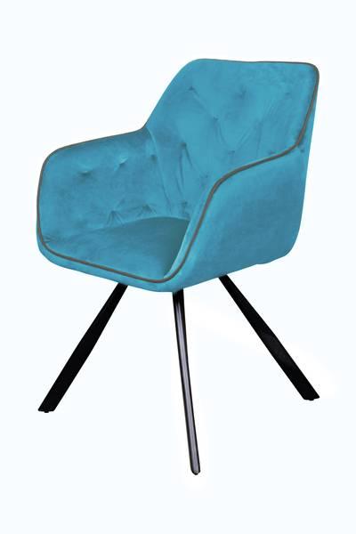 Armlehnenstuhl 125 blau »Eann«