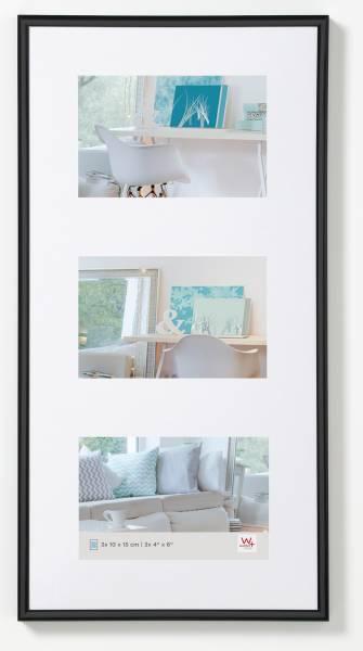 Galerierahmen schwarz 3er 10x15, »New Lifestyle«
