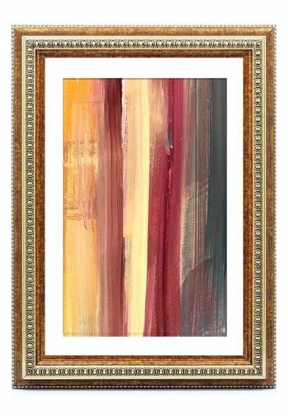 Bilderrahmen-Barock Altgold 50x50, »KindOF«