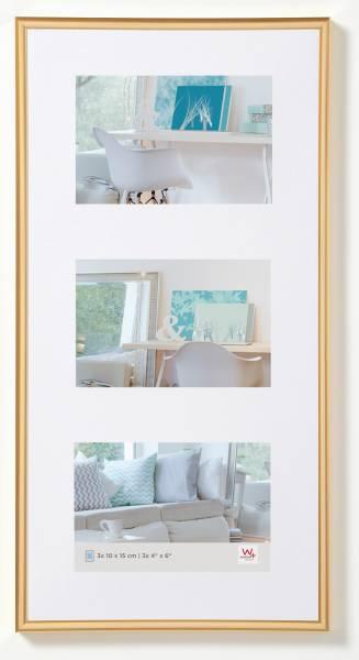 Galerierahmen gold 3er 10x15, »New Lifestyle«