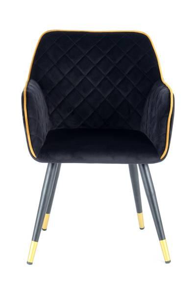 Armlehnenstuhl 525 schwarz »Amino«