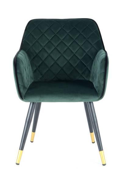 Armlehnenstuhl 525 dunkelgrün »Amino«