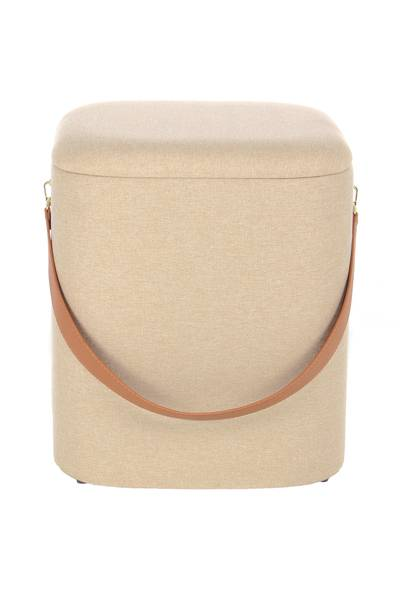 Hocker 225 (2er-Set) beige »Arabella«
