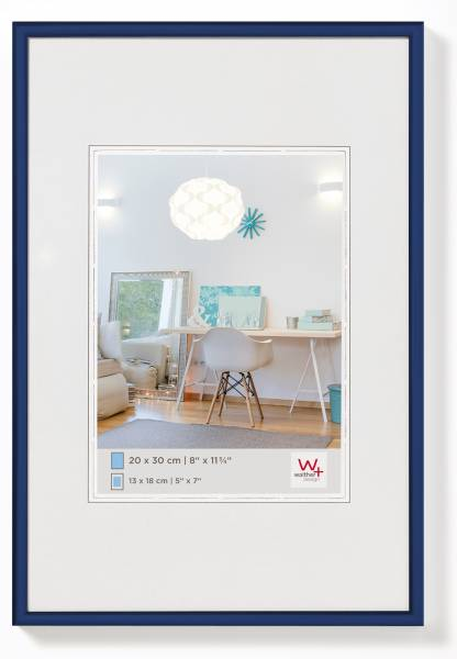 Kunststoffrahmen blau 40x50, »New Lifestyle«