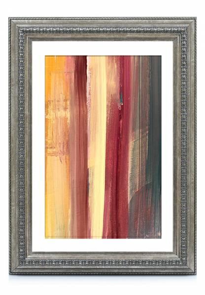 Bilderrahmen-Barock Silber 50x50, »KindOF«